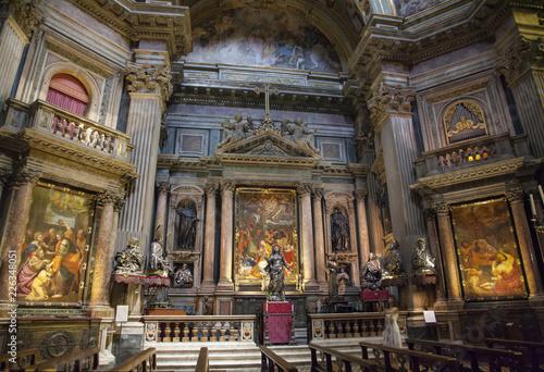 Stampa su Tela Chapel of San Gennaro - Naples