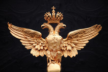 Coat Of Arms In The Form Of A Two-headed Eagle