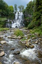 Waterfall At Chittenango Falls State Park, Upstate New York