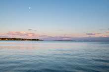 Serene Sunset At Pine Point Beach In Scarborough Maine