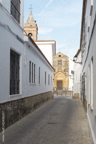 Photo  Iglesia de San Jorge en Alcalá de los Gazules, municipio de la provincia de Cádi