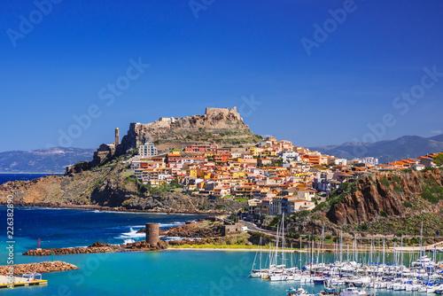 Photo  Beautiful view of Castelsardo town, Sardinia island, Italy