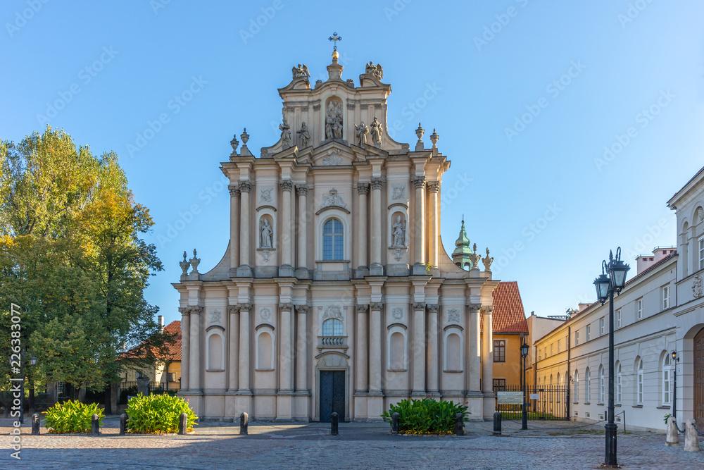 Fototapety, obrazy: Krakowskie Przedmieście, Centrum Warszawy, Polska