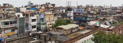 Fototapeta Delhi Slum Indien obraz