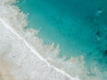 Arial Image Of The Ocean