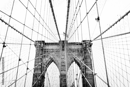 Keuken foto achterwand Bruggen brooklyn bridge in new york