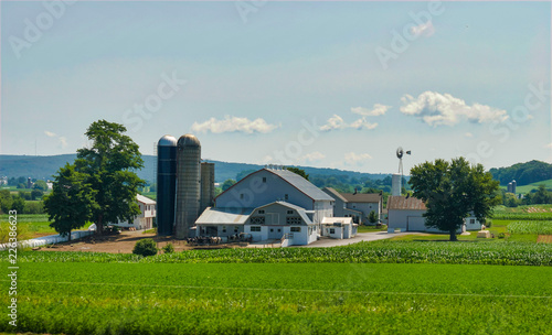 Valokuva Amish Farm Landscape C