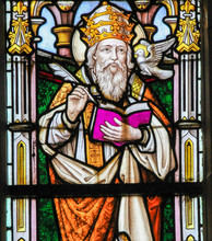 Stained Glass - Saint Gregory The Great