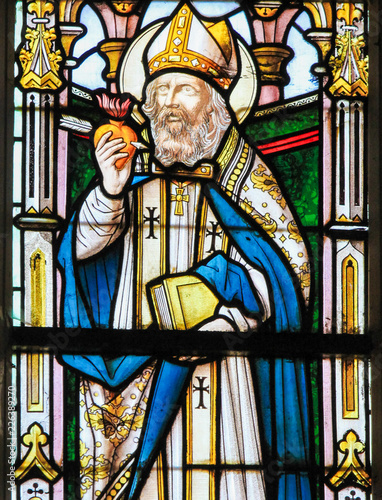 Photo Stained Glass - Saint Augustine