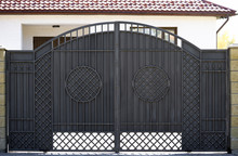 New Forged Metal Double Gates ...