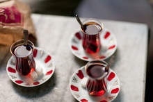 Three Cups Of Turkish Tea