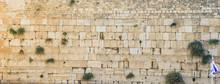 Texture Of The Wailing Wall Aka. Western Wall