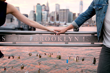 Couples Holding Hand In New York