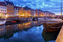 Copenhagen. The Nyhavn Channel...