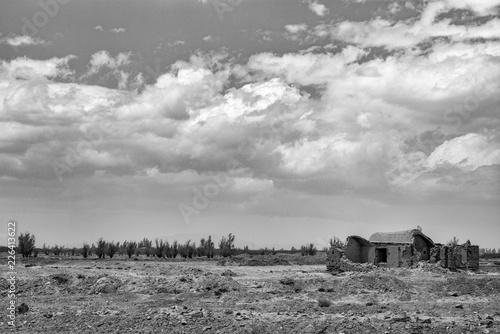 Photo  Rural Countryside Near Abarkuh, Iran
