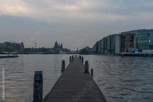 Fototapety, obrazy: Amsterdam city, Netherlands, Travel photography