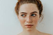 Woman Portrait. Close-up. Beau...