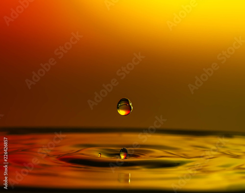 Fototapety, obrazy: Water Drop