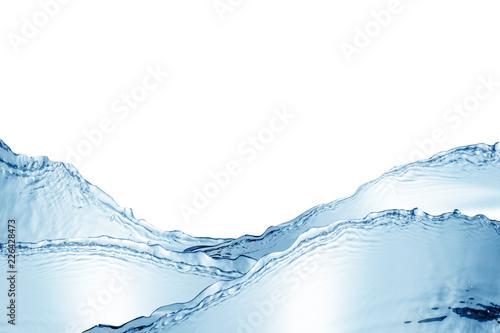 Fototapety, obrazy: Water,water splash isolated on white background