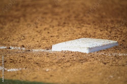 Photo  Baseball base
