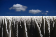 Drying A Futon (by Hanging It Outside In The Sun)-1