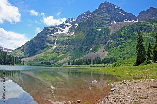 Maroon Bells - Colorado - Buy this stock photo and explore