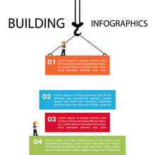 Building Of Infographics. Temp...