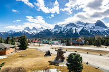 Canadian Rockies From Canmore