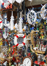 Detail Of A Store In The Market In The Old City Of Acre (Akko), Israel.