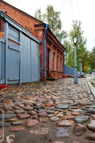 Photo Vitebsk, Belarus-October 6,2018: Marc Chagall Museum House  in Pokrovskaya Stree