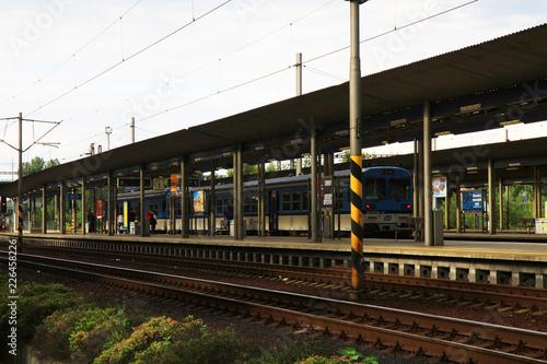 Foto op Aluminium Treinstation Ostrava train station