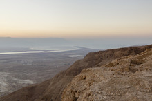 People At Masada Fortress Look...