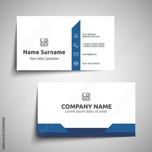 Fotografie, Obraz  Business card