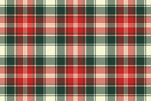 Fabric Texture Check Plaid Sea...