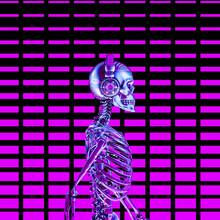 Eighties Neon Disco Headphone ...