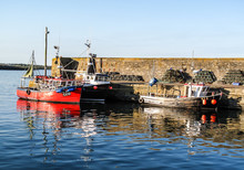 Lobster Crab Fishing Boats In ...
