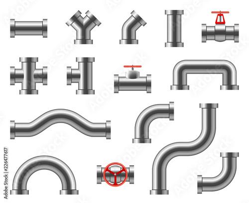 Fotomural Steel pipes
