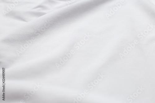 Stampa su Tela  Cotton t-shirt close-up