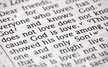 Bible Verse God Is Love In Nar...