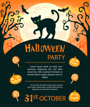Halloween Party Invitations Or...