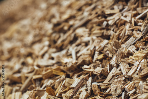 Fototapeta wood chips firewood