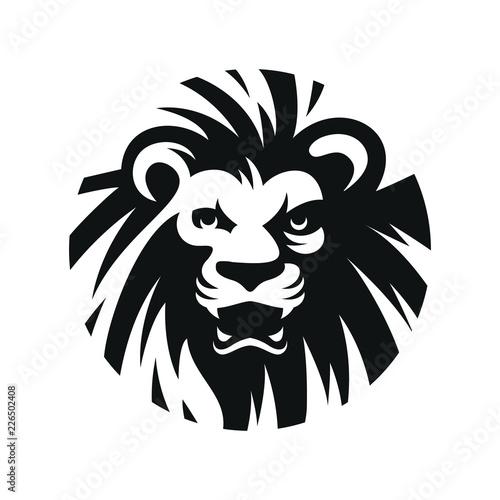 Fototapety, obrazy: lion head illustration