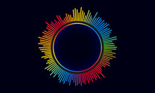 Abstract Circular Equalizer Logo