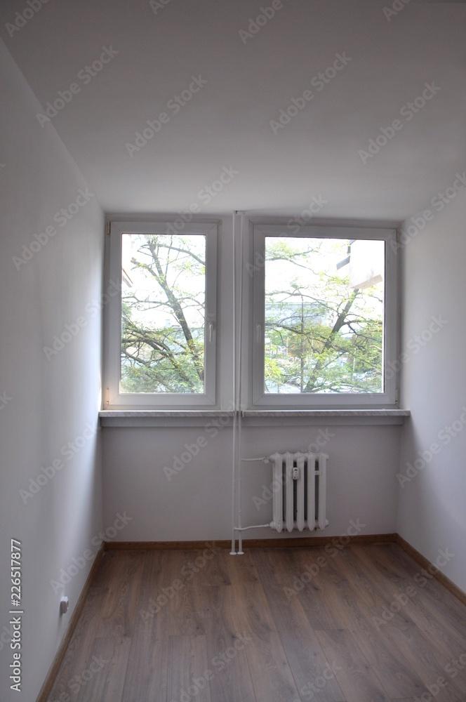 Fototapeta pusty pokój mały - obraz na płótnie
