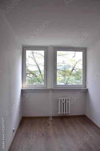 Obraz pusty pokój mały - fototapety do salonu