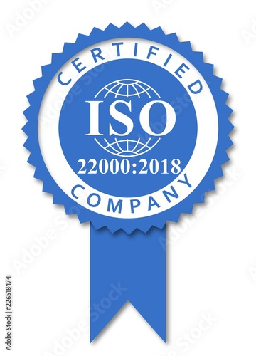 ISO 22000-2018_FOOD SAFETY MANAGEMENT SYSTEMS BLUE MEDAL