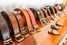 Handmade Leather Belts For Sal...