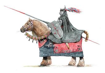 Fantasy knight. Hand made I...