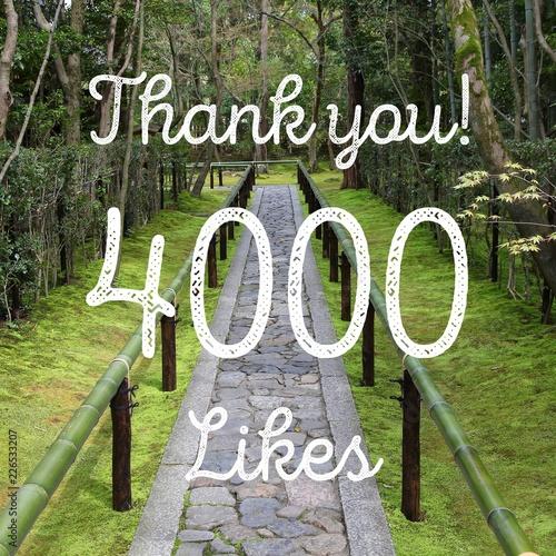 Valokuva  4000 likes