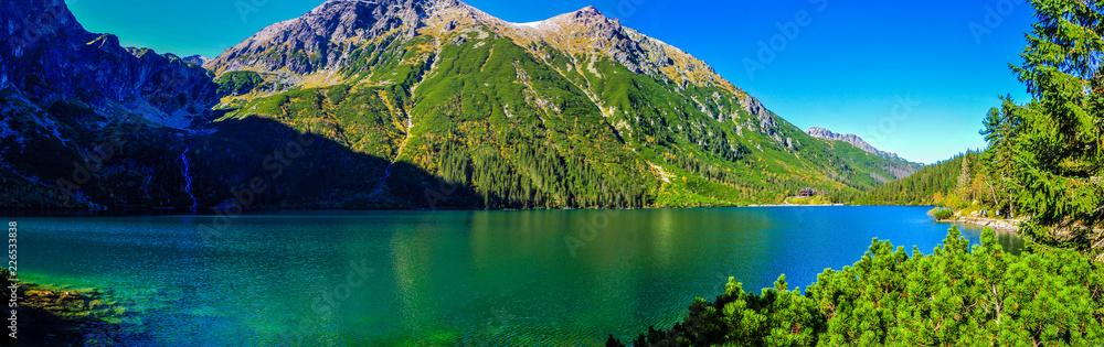 Fototapety, obrazy: Morskie Oko in Tatry mountains